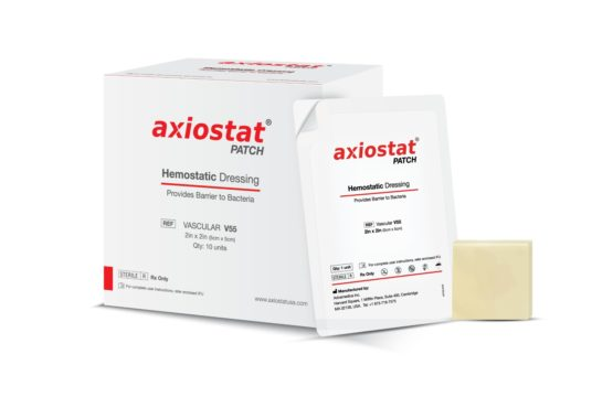 Advamedica Receives FDA Clearance for Axiostat Hemostatic Patch